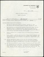 University of Waterloo Faculty of Graduate Studies admission letter