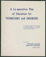 Co-operative Plan of Education for Technicians and Engineers