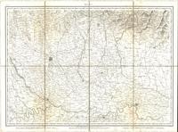 Tableau pour servir à l'assemblage de la carte topographique-militaire des Alpes en douze feuilles [Map 06]