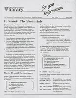 For Your Information (v.02, n.01)