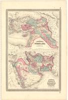 Johnson's Turkey in Asia ; Johnson's Persia Arabia, Beloochistan and Afghanistan