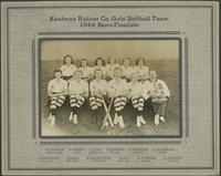 Baseball, 1940's : Kaufman Rubber Co. girls' softball team : 1944 semi-finalists