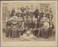 Ahrens Shoe Co. staff.