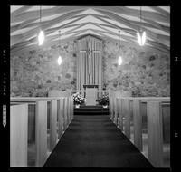 Conrad Grebel, Interior of Chapel [Unpublished]