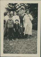 Byers family snapshot.