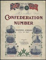 Confederation number : diamond jubilee, July 1st, 1927