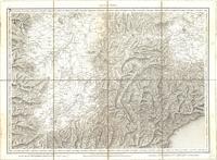 Tableau pour servir à l'assemblage de la carte topographique-militaire des Alpes en douze feuilles [Map 08]