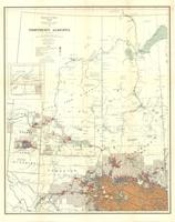 Northern Alberta : map showing disposition of lands