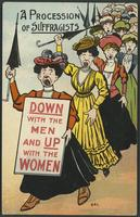 Procession of suffragists