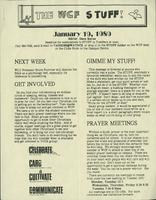 The WCF Stuff (1989 January 19)