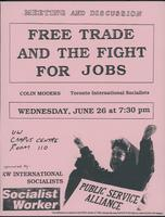 Free trade and the fight for jobs