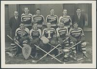 Hockey, 1940's : Kaufman Rubber Co. Industrial Senior Hockey Champions, 1940-1941
