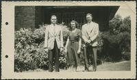 Augustine, Albert Jacob, Mary Caroline Augustine, and John Ross Augustine