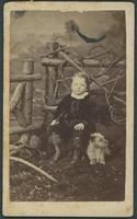 Bowlby, George Herbert and dog Tippo Saib