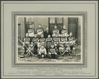 "Hockey, 1930's : Kaufman Rubber Co. Industrial ""Y"" Senior Champions, 1935-1936"