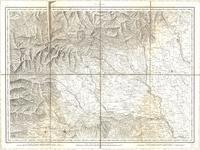 Tableau pour servir à l'assemblage de la carte topographique-militaire des Alpes en douze feuilles [Map 05]