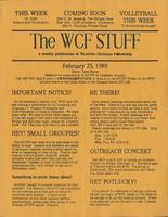 The WCF Stuff (1989 February 23)