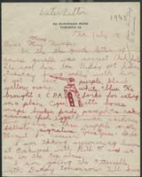 Later letter (July 12, 1945)