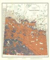 Saskatchewan : map showing disposition of lands