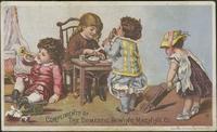 Domestic Sewing Maching Co. advertisement