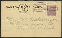 Canada Post Card (Jan 31, 1945)