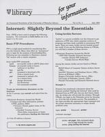 For Your Information (v.02, n.03)