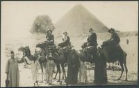 Kaufman family trip to Egypt