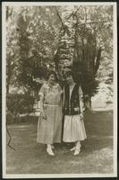 Dorothy Russell and Laura Reichold at Highgate