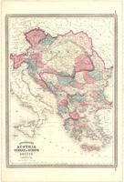 Johnson's Austria, Turkey in Europe and Greece