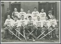 Hockey, 1930's : Kaufman Rubber Co. hockey team.