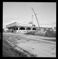 University of Waterloo, Arts Library Building Under Construction Dana Porter [Unpublished]