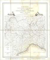 Tableau pour servir à l'assemblage de la carte topographique-militaire des Alpes en douze feuilles [Assembly Table]