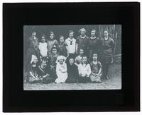 Breithaupt, Martha Edna with a group of women and children in China [Transparent]