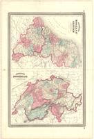 Johnson's Holland and Belgium ; Johnson's Switzerland