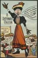 Suffragist orator