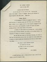 Monthly message (March to May 1944)