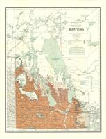 Manitoba : map showing disposition of lands