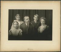 Augustine, Albert Benjamin and family