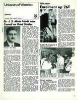 University of Waterloo Quarterly (1966 November)
