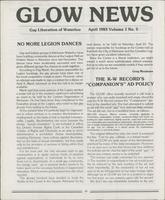GLOW News (April 1983)
