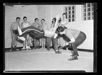 Wrestling, YMCA [Unpublished]