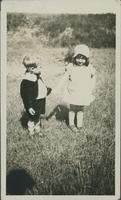 Lawson [Holman] & Betty Laidlaw at the picnic last summer.