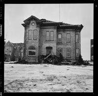 WLU, Conrad Hall Demolition [Unpublished]