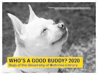 Who's a good buddy? 2020 Dogs of the University of Waterloo Library