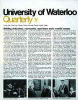 University of Waterloo Quarterly (1968 February)