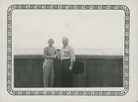 Clark & Vivian at Michigan Beach.