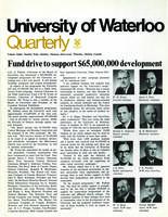 University of Waterloo Quarterly (1967 October)
