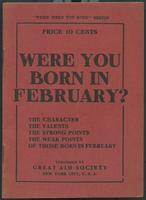 Were you born in February?