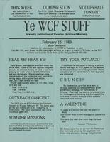 The WCF Stuff (1989 February 16)