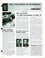 University of Waterloo Quarterly Report (1961 May)